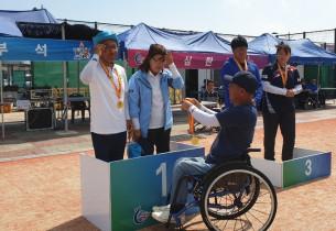제25회 충남장애인체육대회 사비론볼클럽 성적입니다